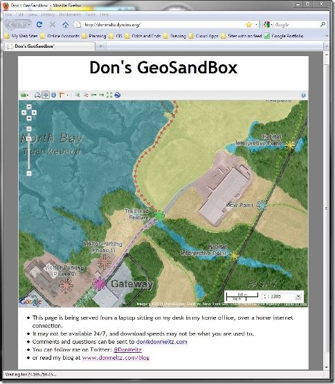 GeoSandbox 2011-01-31